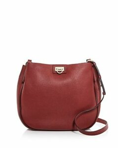 Salvatore Ferragamo Reverse Leather Hobo