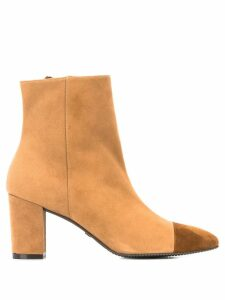 Stuart Weitzman two-tone ankle boots - NEUTRALS
