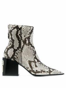 Alexander Wang Parker boots - Neutrals