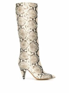 The Seller animal print boots - Neutrals