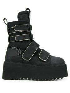 Bruno Bordese Amphibian boots - Black