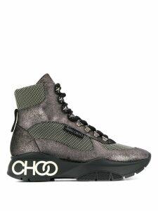 Jimmy Choo Inca hi-top sneakers - Grey