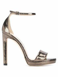 Jimmy Choo Misty 120 sandals - GOLD