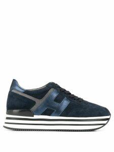 Hogan platform sneakers - Blue