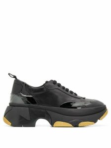 Patrizia Pepe chunky sole sneakers - Black
