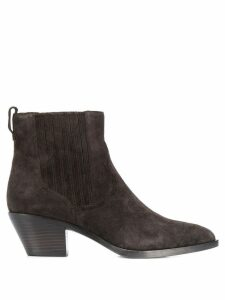 Ash slip-on ankle boots - Brown