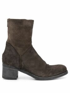 Pantanetti zip up boots - Brown