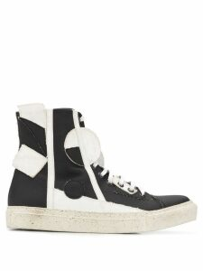 Rombaut Object Cubic hi-top sneakers - Black