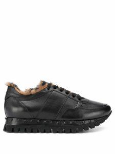 Kennel & Schmenger fur-lined trainers - Black