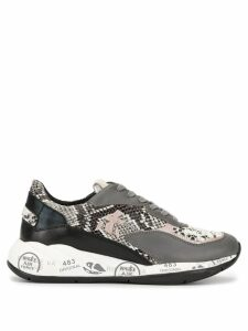 Premiata animal print sneakers - Grey