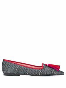 Pretty Ballerinas pointed ballerina shoes - Grey