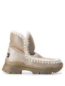 Mou Eskimo 18 ankle boots - Neutrals