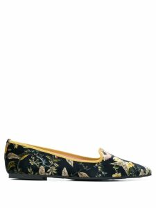 Pretty Ballerinas pointed ballerina shoes - Black