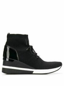 Michael Michael Kors Skyler hi-top sneakers - Black