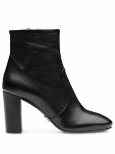 Prada pointed toe ankle boots - Black