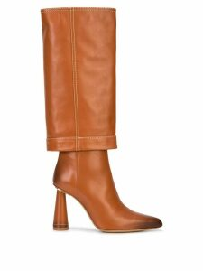 Jacquemus pantalon boots - Brown