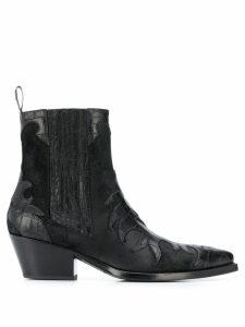 Sartore Western boots - Black