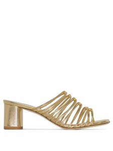 Aeyde multi-strap sandals - Metallic