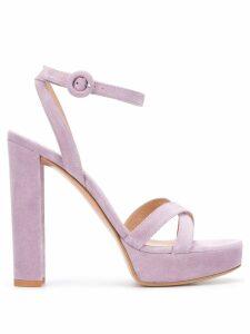 Gianvito Rossi crossover strap sandals - PURPLE