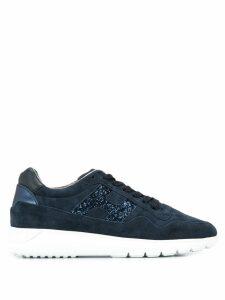 Hogan glitter-embellished sneakers - Black