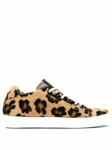 Leather Crown Bassa sneakers - Black