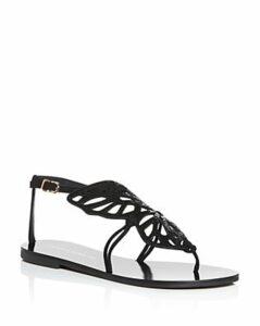 Sophia Webster Women's Bibi Glitter Butterfly Sandals