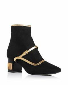 Moschino Women's Square-Toe Booties