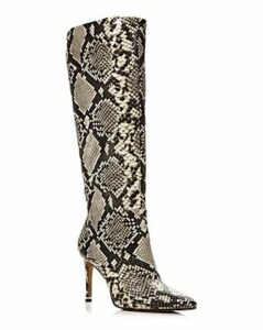Kenneth Cole Women's Riley Snake-Print Tall Boots