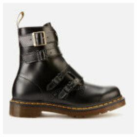 Dr. Martens Women's Blake II Leather Buckle Chelsea Boots - Black - UK 6 - Black