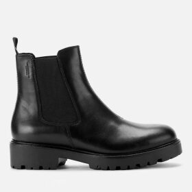 Vagabond Women's Kenova Leather Chunky Chelsea Boots - Black - UK 8 - Black