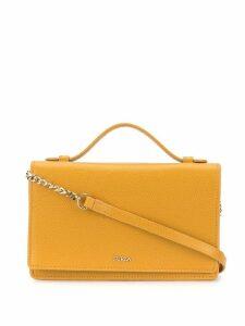 Furla pebbled cross body bag - Yellow