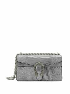 Gucci Small size metallic Dionysus shoulder bag - SILVER