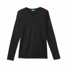 Cotton Long-Sleeved T-Shirt
