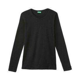 Cotton Long-Sleeved T-Shirt
