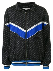 Stella McCartney monogram sports jacket - Blue