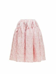 Cecilie Bahnsen - Rosie Cloqué Skirt - Womens - Light Pink