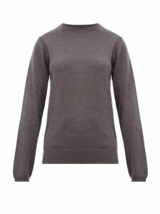 A.p.c. - Savannah Merino-wool Sweater - Womens - Grey