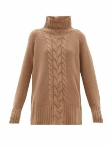 S Max Mara - Ronco Sweater - Womens - Camel