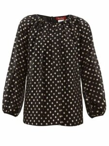 Max Mara Studio - Giulia Blouse - Womens - Black Multi