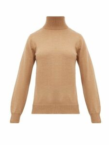 A.p.c. - Sandra Wool Roll Neck Sweater - Womens - Beige