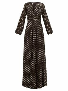 Max Mara Studio - Lidia Dress - Womens - Black Multi