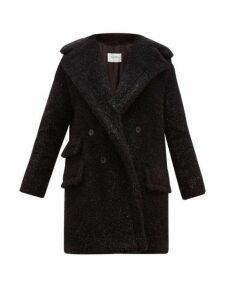 Max Mara - Lastra Coat - Womens - Black