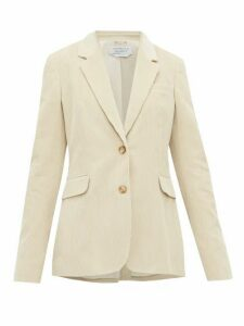 Gabriela Hearst - Sophie Single-breasted Cotton-corduroy Blazer - Womens - Cream