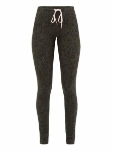 The Upside - Army Leopard Print Technical Jersey Leggings - Womens - Leopard