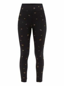 The Upside - Ditsy Technical-jersey Leggings - Womens - Multi