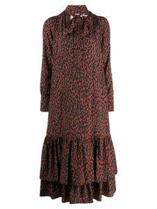 La Doublej Good Witch wrap dress - Red