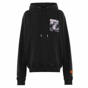 Heron Preston Oversized Hern Patch Hoodie