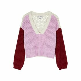 Wildfox Color Me Beverly Cotton Jumper