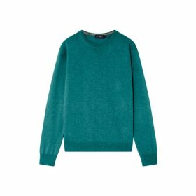 Hackett Merino Wool And Cashmere Blend Crew Neck Sweater