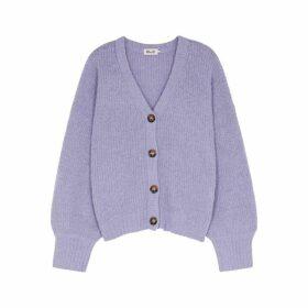 Baum Und Pferdgarten Corsica Purple Wool-blend Cardigan